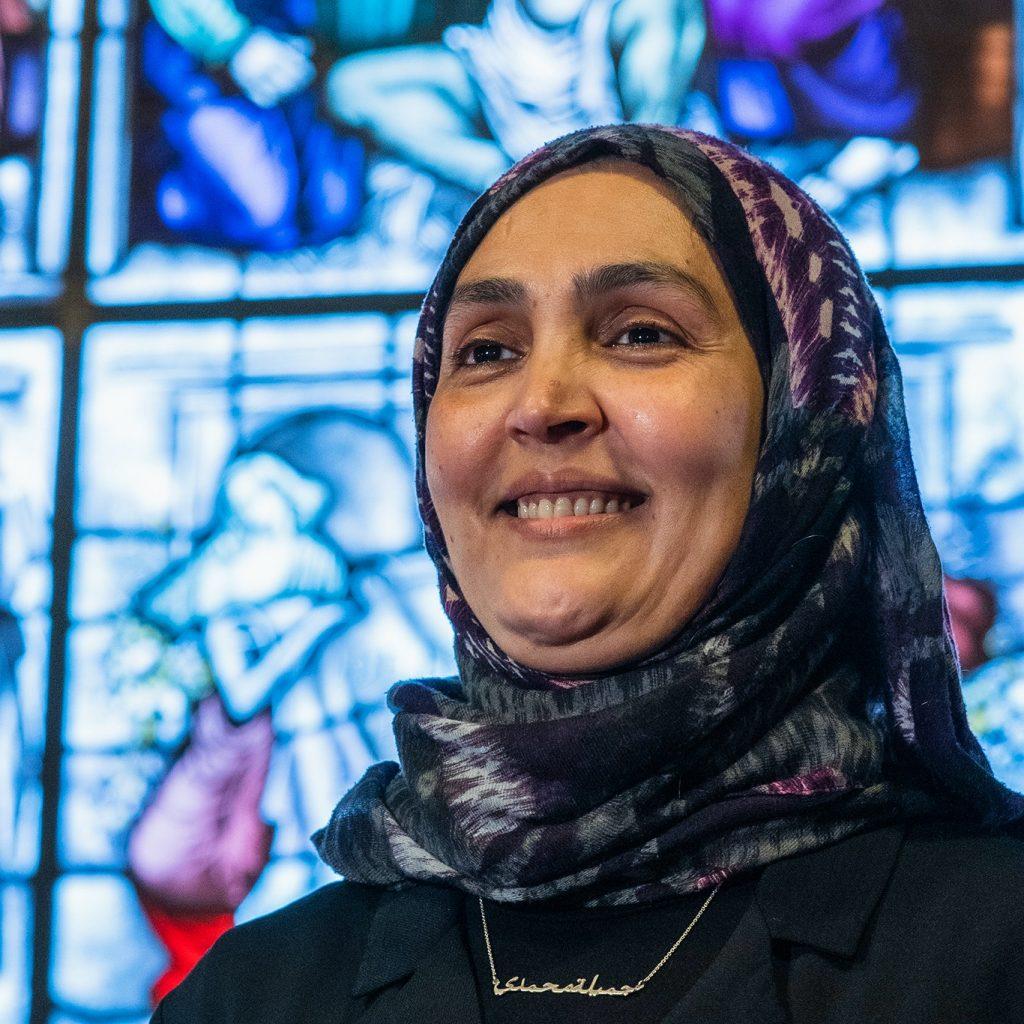 Djamila Mohammedi (medewerker buitenschoolse opvang): bleef kinderen opvangen en hielp veel ouders buiten werktijd